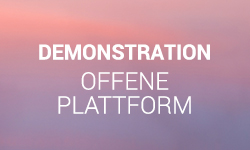 Demonstration offene Plattfom